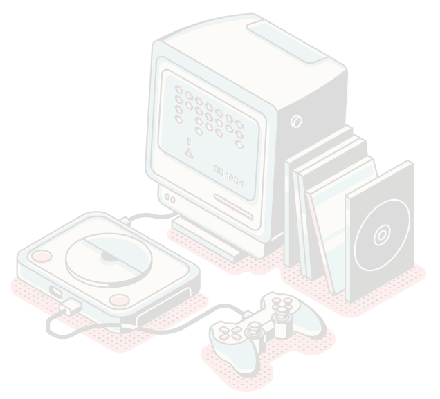 Picture of a Retro Gaming Console